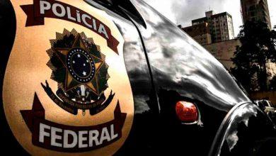 Foto de Santander autuado pela Polícia Federal