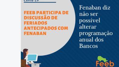 Photo of Bancos não aderem ao feriado estadual antecipado para 25 de maio
