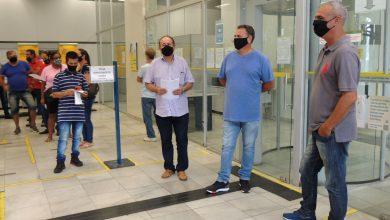 Foto de Sindicato dos Bancários de Araçatuba faz manifestação contra 'reestruturação' do BB